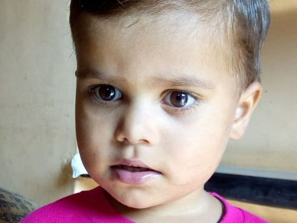 help baby payal solunke a heart patient
