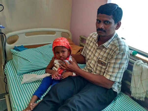 Help 3-year-old Sanvi fight blood cancer