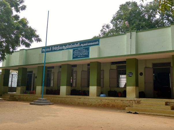 Help to village government school to start smart class with projector