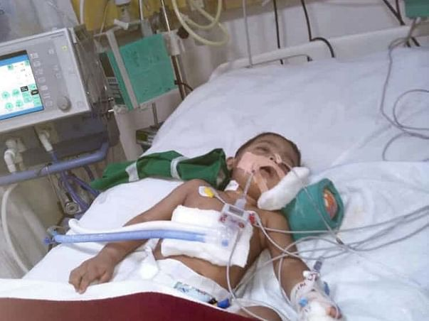 Baby Arnav is in a critical state in the ICU and needs our help