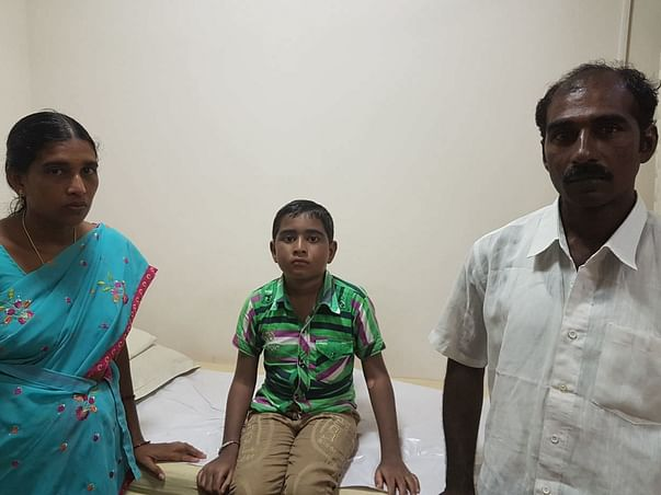 Help 9-year-old Nagaraju fight a fatal blood disorder