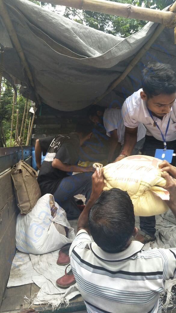Relief for the flood affected region
