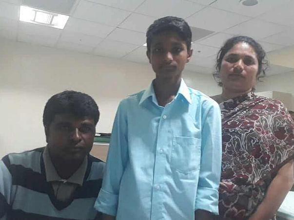 Help 12-year-old Sanju fight a severe bone marrow disease