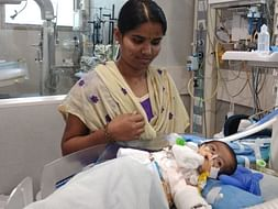 Help Pavithra's new-born baby fight a severe heart disease