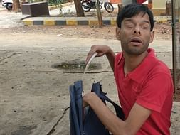 This Young Blind Man Needs Support To Achieve His Dreams