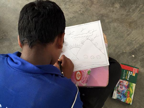 Help teach 100 students of Urban slums