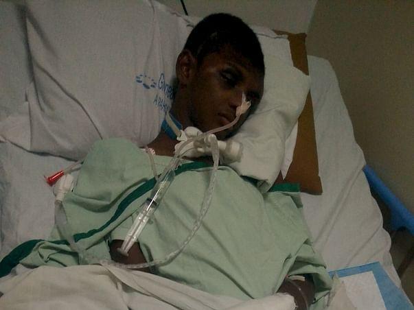 Help Rakesh fight with Brain Injury