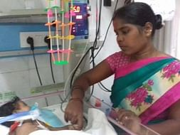 Help 4-month-old baby Praveena fight a battle with heart disease