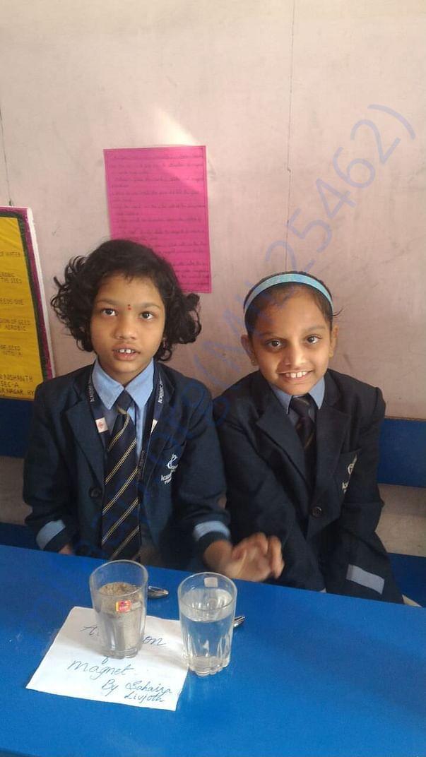 LIVJOTH WITH HER BEST FRIEND AT SCHOOL