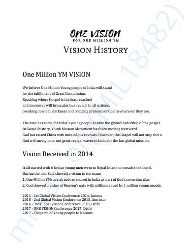 Vision History