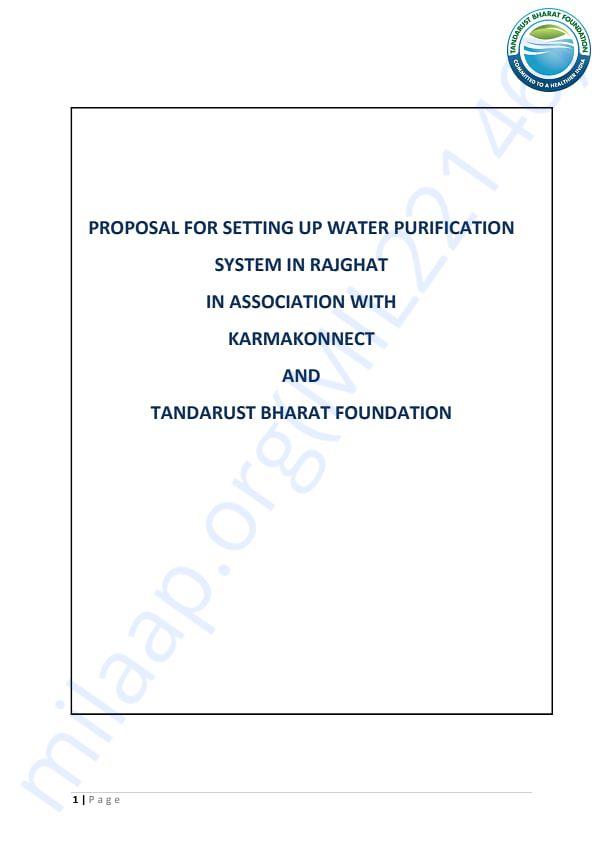 Eureka Forbes Water Filter qoutation