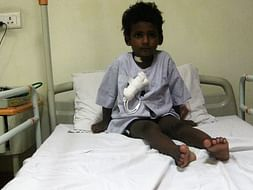Help 3 year old Kavinesh Undergo Treatment For Severe Blood Disorder
