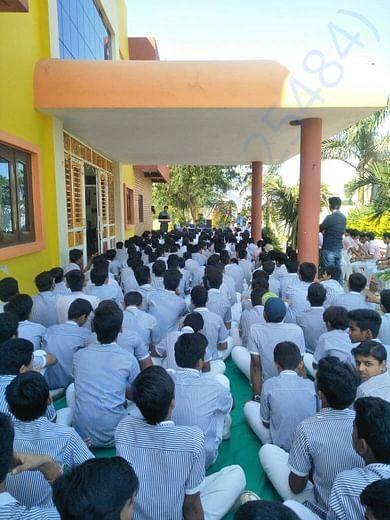 Workshop @ Unnati Academy, Badnawar (District Dhar, MP)