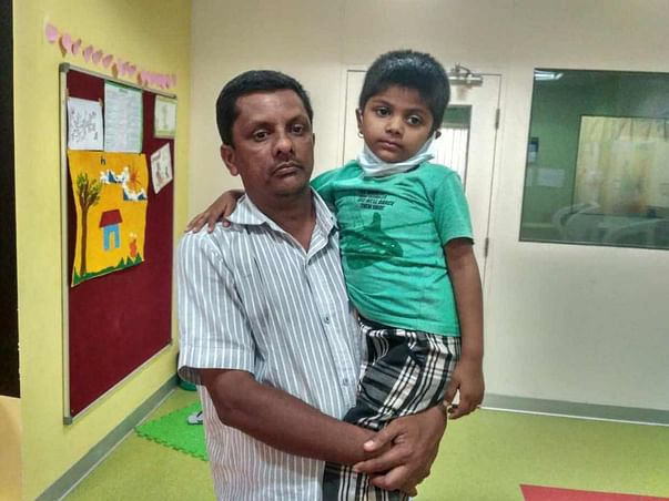 Help 5-year-old Keerthana fight a severe brain tumor