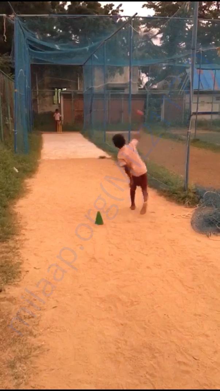 Cricket coaching at YMCA