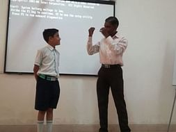 Help for Teaching Auto Suggestion Technique to Slum School Students
