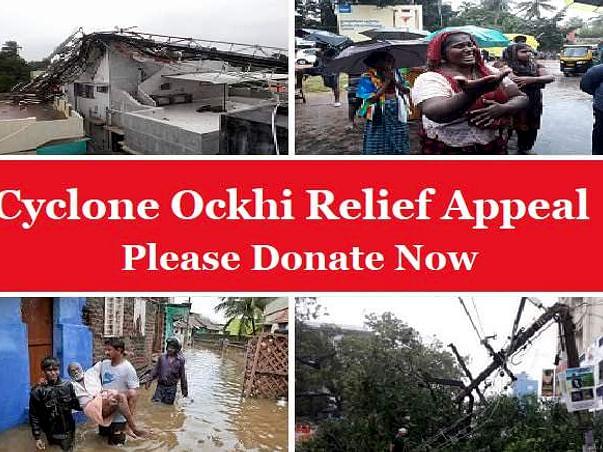 #CycloneOckhi Relief Appeal - Kanyakumari