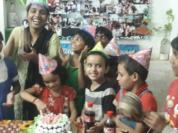 Donation for an Orphanage: Aasra Sewa Sansthan