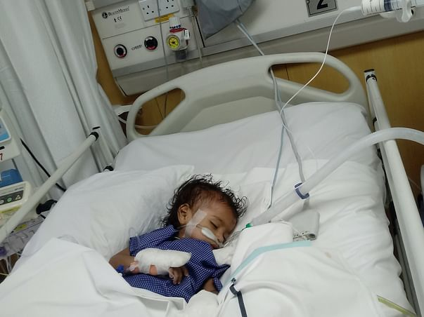 This Baby's Insides Are Completely Burnt After Swallowing A Battery