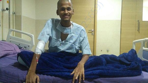 Mahesh under chemotherapy treatment