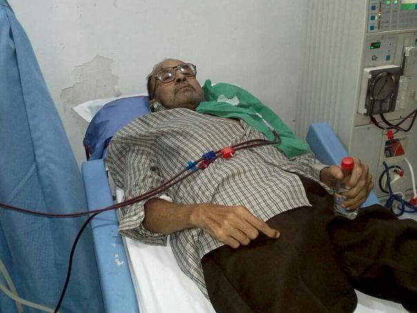 Help him to undergo a kidney transplant