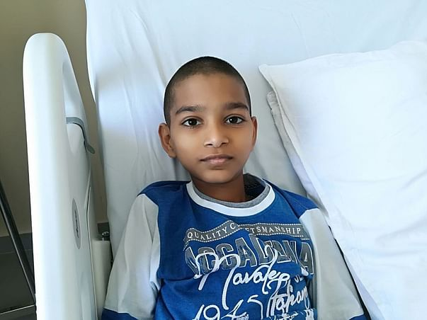 11-year-old Edward is battling with cancer and needs our support