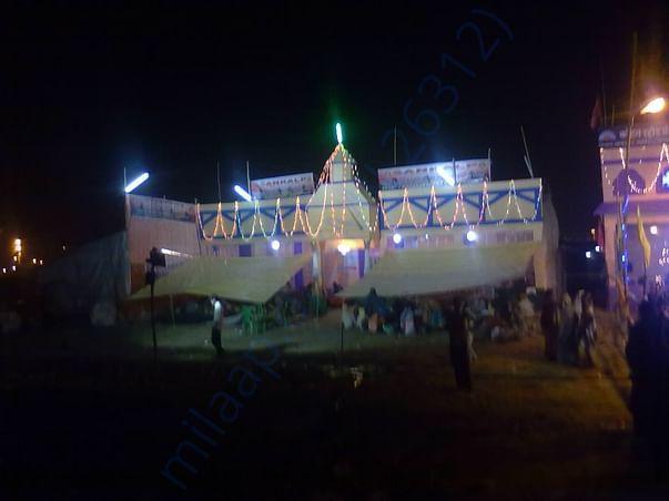 Sankalp Camp at night