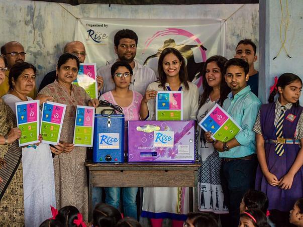 Installing sanitary pads machine in 20 schools in Nagpur (My Health)