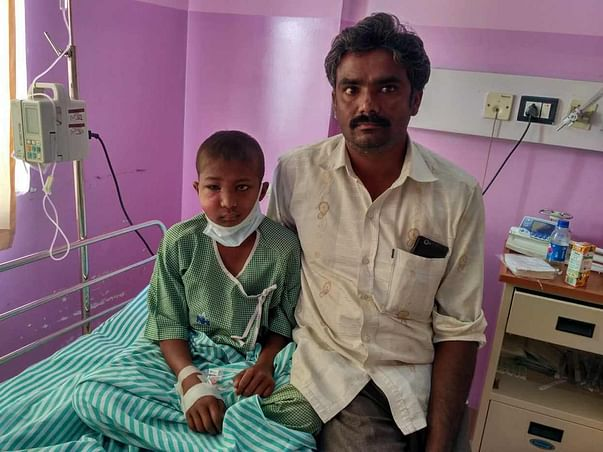 Help 9-year-old Renukesh who has been suffering from blood cancer