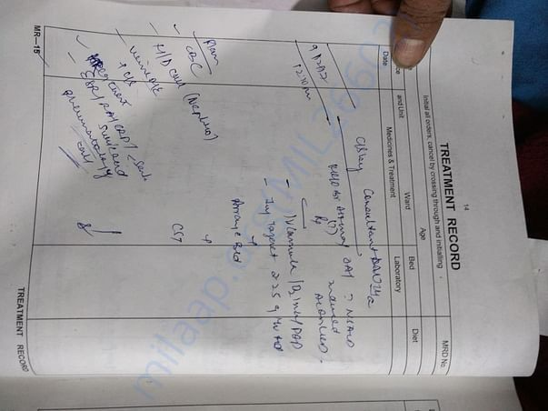 Treatment Record 4