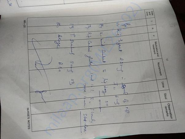 Nurse's Report 2