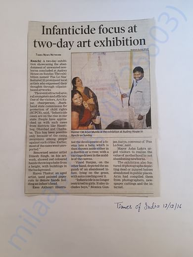 The Times of India Coverage