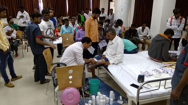 Amputee Camp on 22nd Oct 2017