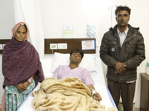 Help 20-year-old Anil fight a severe brain tumor