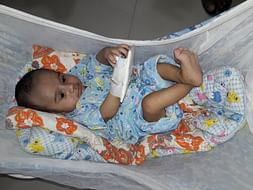 Help 4-month-old baby Adib fight a severe heart disease