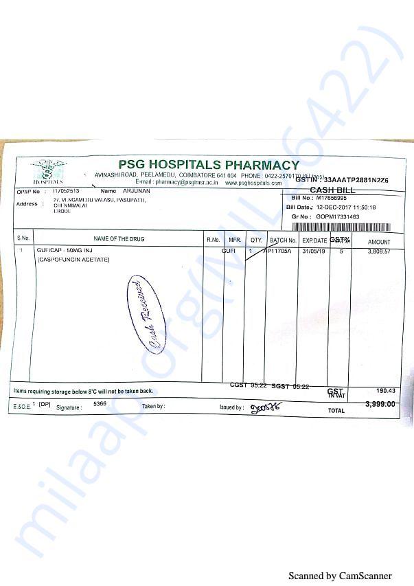Pharmacy bills 2 12-12