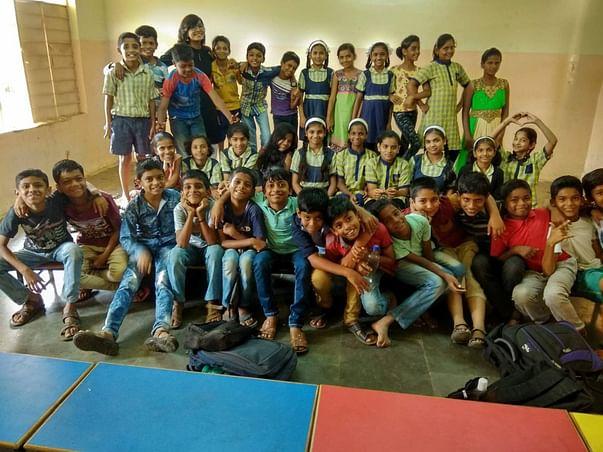 Better, Brighter Education for 6th standard Bibvewadi students