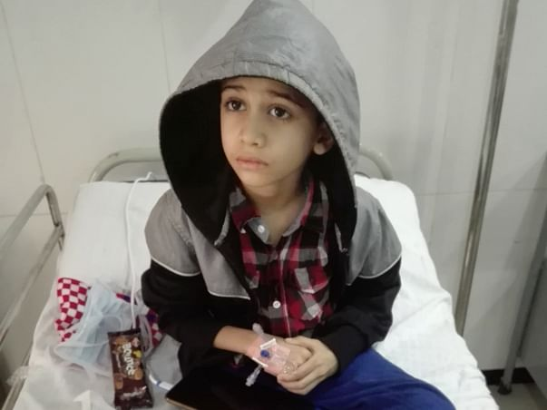 Help 7 Year-Old-Furqaan Fight Blood Cancer