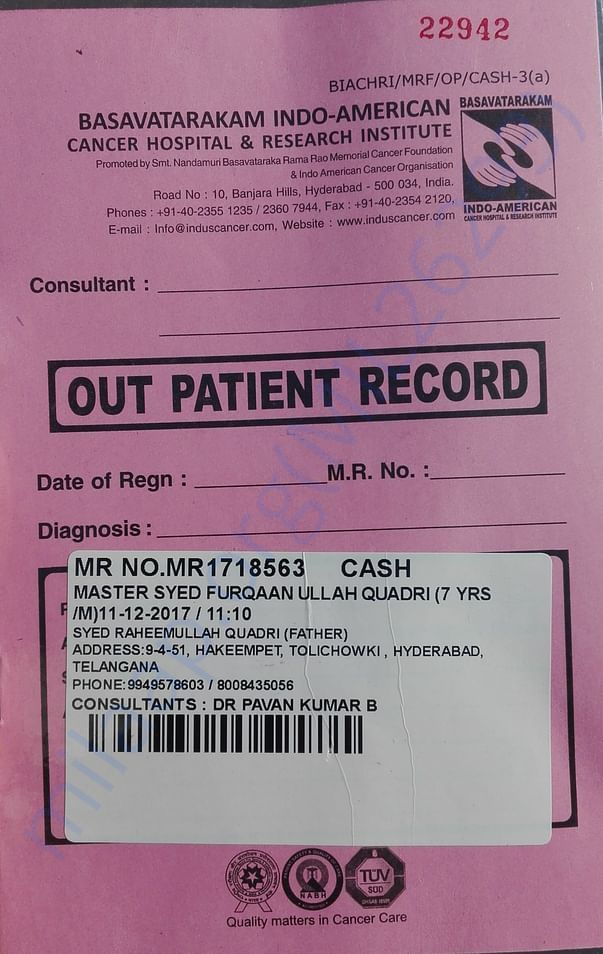 Patient Record Book