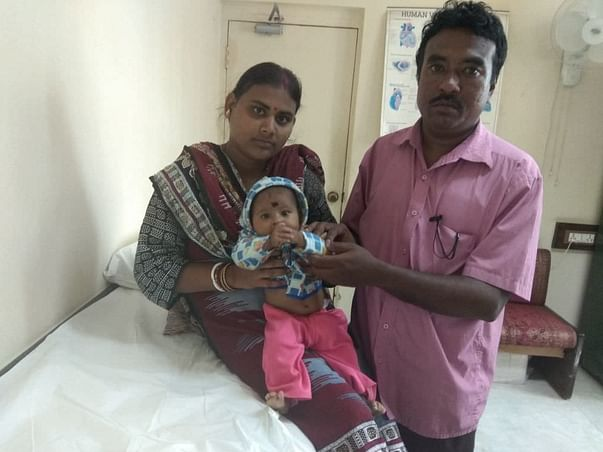 Help 6-month-old Rupsha fight a severe heart disease