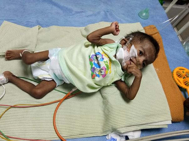 Help 8-month-old baby girl fight a severe lung condition