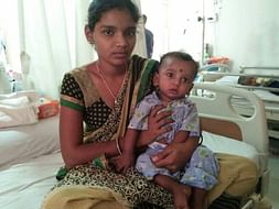 Help 8-month-old Kavish fight a severe blood disorder