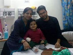 Help 3-year-old Tanishq fight cancer