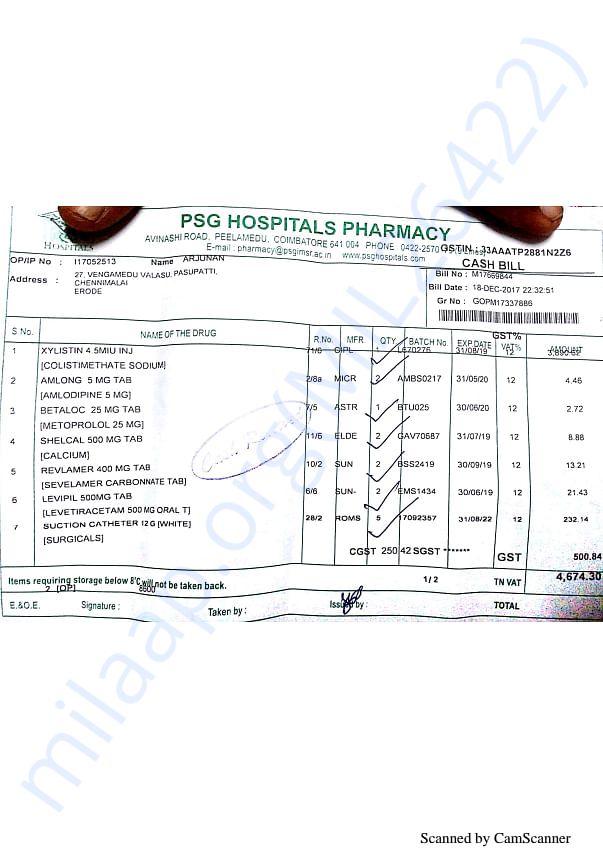 Pharmacy bills 2 18-12(2)