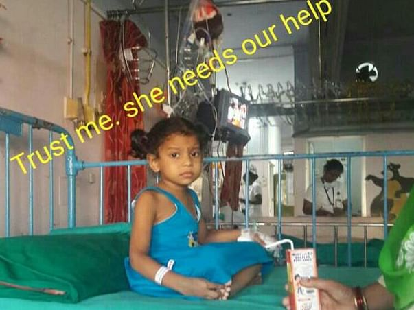 Need your support for Tejaswani,4 year child to fight cancer