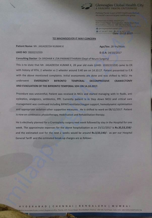Revised Estimation Letter