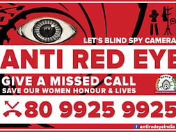 ANTI RED EYE - SAVE OUR WOMEN'S HONOUR AND LIVES