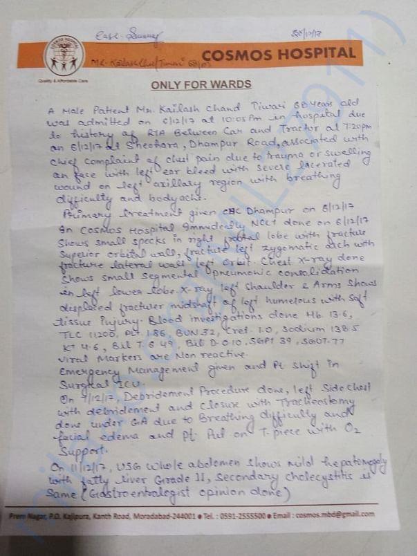 Hospital referral for treatment in Delhi