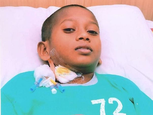 Help 12-year-old Hemanth fight cancerous tumors