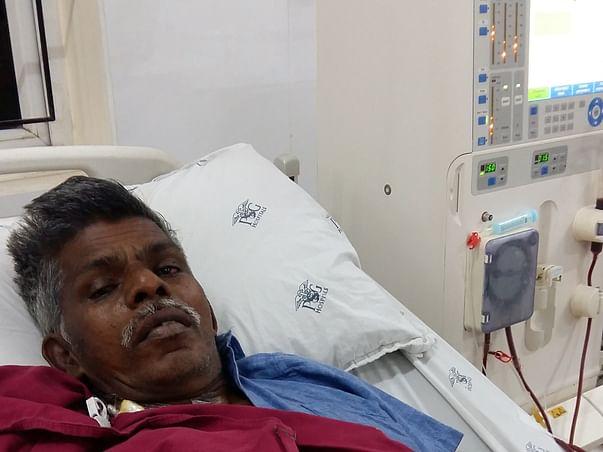 Help Vanamoorthy to fight chronic kidney disease